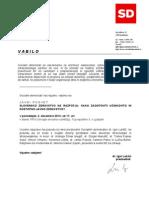 """SD posvet """"Slovensko zdravstvo na razpotju"""" - vabilo 02.12.2013"""
