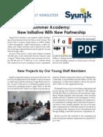 Syunik NGO Newsletter Issue 4
