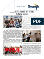 Syunik NGO Newsletter Issue 5