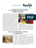 Syunik NGO Newsletter Issue 6