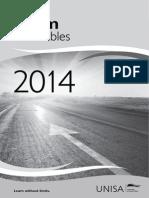 MyRegistration Unisa 2014 Provisional Exam Timetables