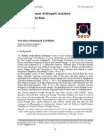 Document 6 Billah a. M. M. a the Development of Bengali Literature During Muslim Rule