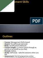 The Management Skills