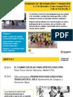 Jornadas Camino Escolar 2013 12 folleto