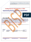 SalesForce Certification Preparation Lab#1