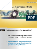 Ansys Design Modeler 14.5 Tips and Tricks