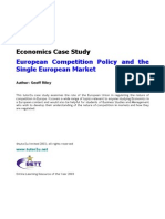 Case Study European Competition Policy[1]