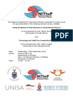 Gauteng Seminar 2 (Announcement)