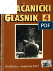 Gračanički glasnik, br. 4