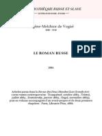 Vogue - Le Roman Russe