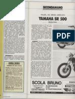 Seconda Mano_yamaha SR 500