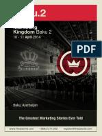 Marketing Kingdom Baku 2