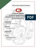 APLICACIÓN DE LOS CIRCUITOS ELÉCTRICOS EN LOS PROCESOS INDSUTRIALES