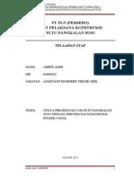 Telaah Staf OJT EE IV - Arifin Edit