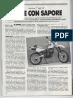 Prova Sprint Yamaha TT 600_1987