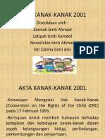AKTA KANAK-KANAK 2001
