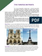 Obiective Turistice Franta REFERAT