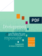 Developpement Durable Et Architecture Responsable