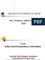Analise Multivariada e Analise Fatorial
