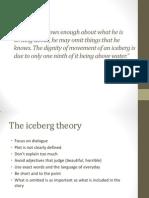 Hemingway, Iceberg Theory