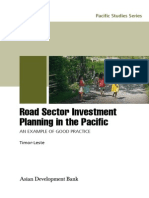 Road Sector Investment Planning in the Pacific