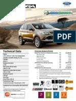 2013 Ford Kuga price list - Peninsular Malaysia