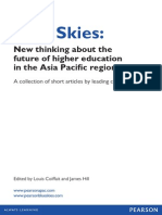 Blue Skies-New Thinking About Higher Education in APAC