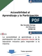 176581594 Accesibilidad Al Aprendizaje y La Participacion Mar Gonzalez PDF (1)