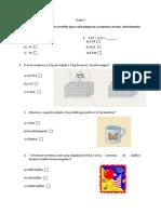 2 ficha de revisão matemática 4° ano