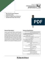 RE92TX Engineering Data Sheet