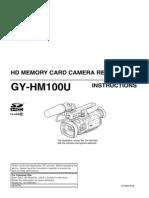 jvc gy-hm100u instruction manual