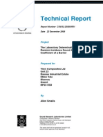 Noise Barrier Test Reports Section1