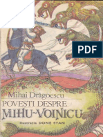 Povesti Despre Mihu Voinicu de Mihai Dragoescu