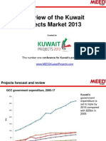 Kuwait Projects Market Overview 2013[1]