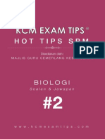 Biologi SPM KCM Exam Tips 2 ®