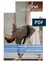 Isha Hata Yoga Teacher Training Information Packet 2013