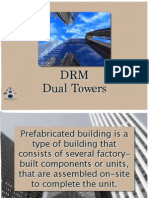 Prefabricated Dual Towers
