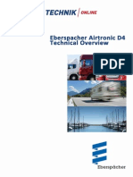 Eberspacher Airtronic D4 Manual