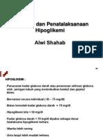 Diagnosis dan Penatalaksanaan  Hipoglikemi
