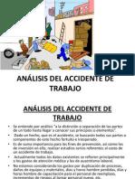 ANÁLISIS DEL ACCIDENTE DE TRABAJO