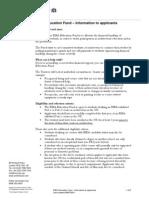 RIBAEducationFund-GuidanceNotesforApplicants