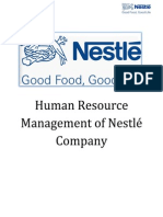 performance appraisal method of nestle