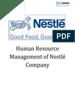 nestle job analysis