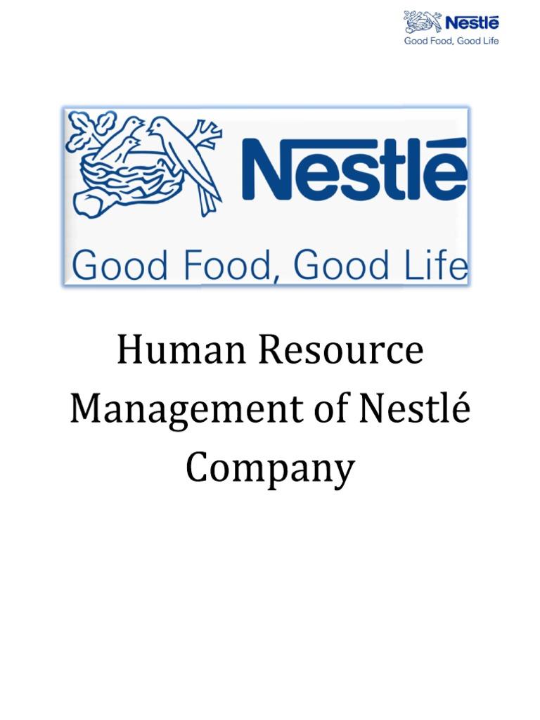 NESTLE   Performance Appraisal   Strategic Management