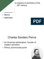 Lecture 3. Semiotics. Classics