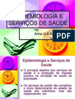 AULA EPIDEMIOLOGIA E SERVIÇOS DE SAÚDE