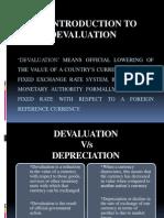 Devaluation- Case Study