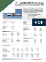 ATR 72-500 682 MAY 13