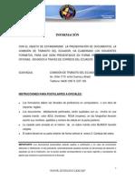Formularios Para Postulantes a Oficialessinmodificar