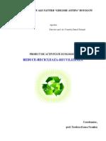 Proiect de Activitate Ecologica